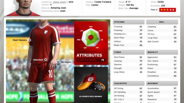 FIFA 11 : le Centre de création dévoilé !