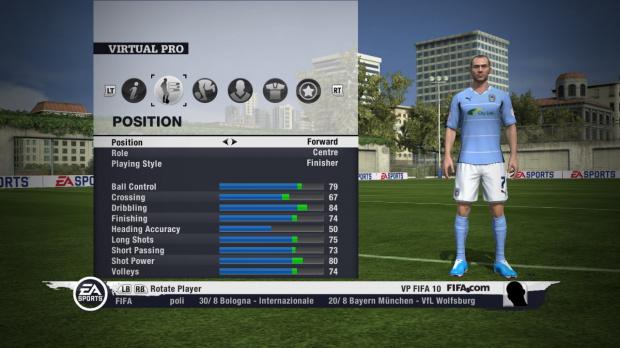 FIFA 11 illustre son nouveau Pro Virtuel