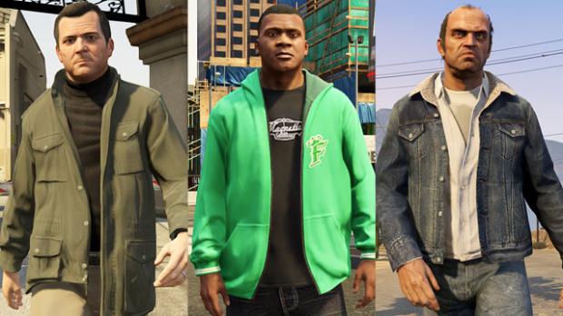 GTA V : Avec de vrais morceaux de gangsters dedans