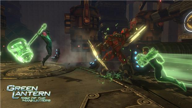 E3 2011 : Images de Green Lantern : La Révolte des Manhunters