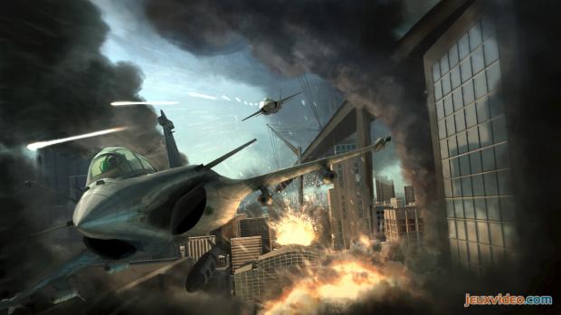 Tom Clancy's HAWX annoncé : un concurrent de poids pour la série des Ace Combat