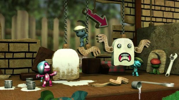 GC 2008 : Artworks de LittleBigPlanet