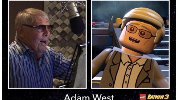 Adam West dans LEGO Batman 3