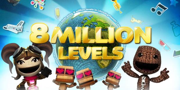 LittleBigPlanet : 8 millions de niveaux créés