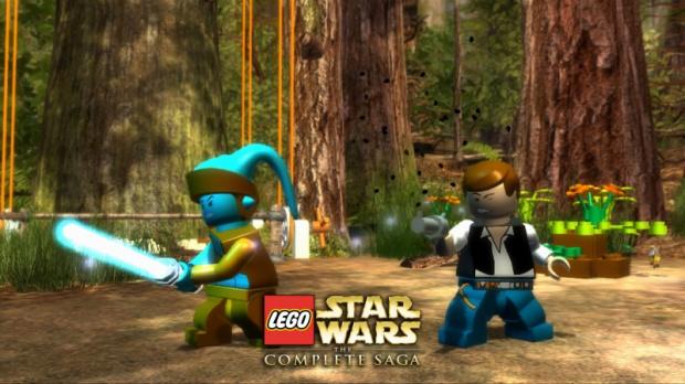 Images : Lego Star Wars : La Saga complètement taguée