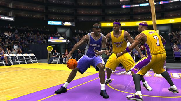 Images : NBA 07 sur les parquets de la PS3