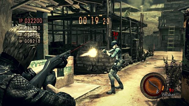 Le mode Versus de Resident Evil 5 est-il déjà sur le disque ?