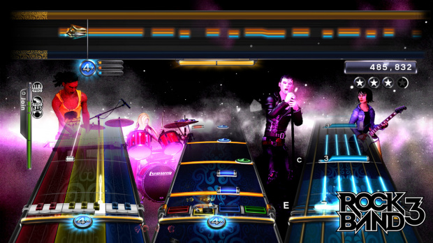 Date de sortie US pour Rock Band 3