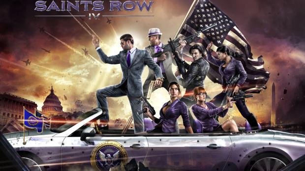 Les premières images de Saints Row 4