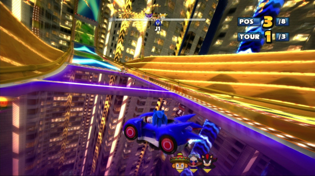 Concours Sonic Racing : un iPad à gagner