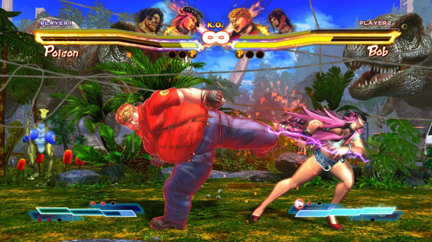 Street Fighter X Tekken : Les 12 persos Vita aussi sur PS3 et 360