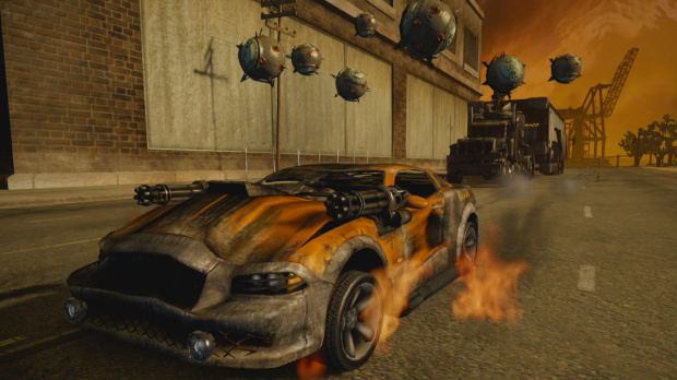 Twisted Metal : Démo en approche