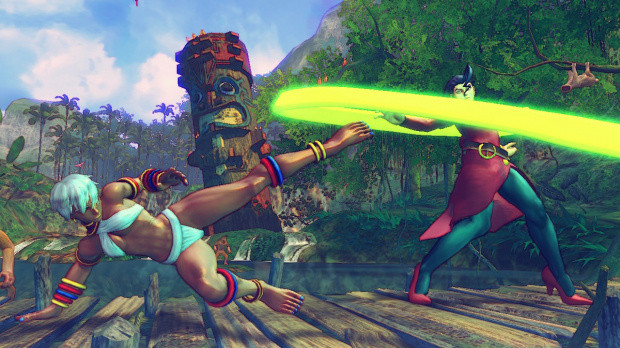 Street Fighter ne sortira pas sur Wii U