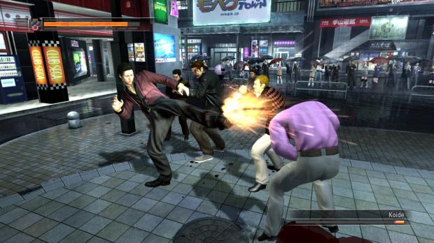 Images et vidéo de Yakuza 4