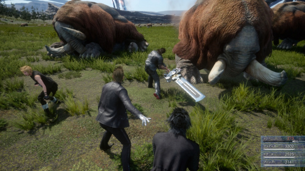 Final Fantasy 15 parade en deux vidéos