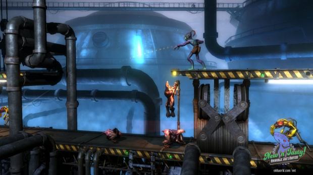 E3 2014 : Oddworld New 'n' Tasty sort le 22 juillet...