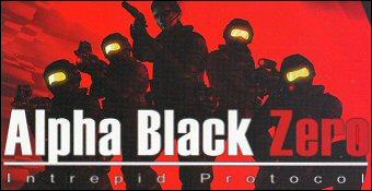 Alpha Black Zero : Intrepid Protocol