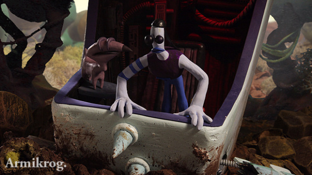 Armikrog, un point and click par les créateurs d'Earthworm Jim