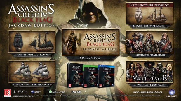 Assassin's Creed 4 revient avec l'Edition Jackdaw