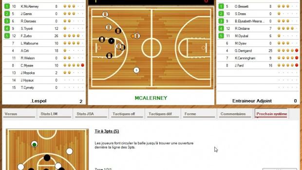 La NBA arrive dans Basketball Pro Management 2012