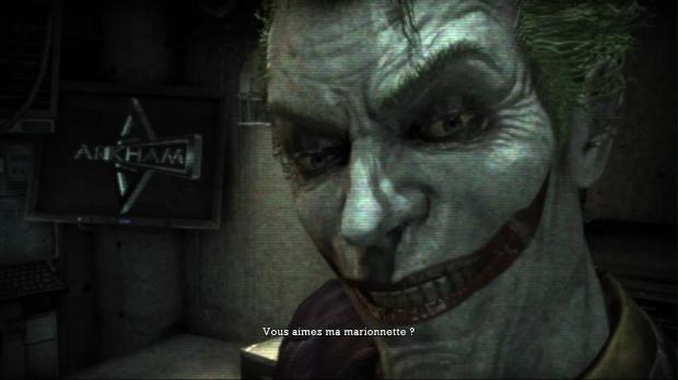 Batman Arkham Asylum en édition Game of the Year