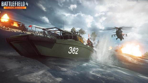 Battlefield 4 : Naval Strike repoussé sur PC