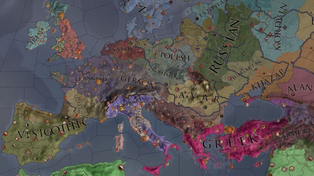 Gamescom : Charlemagne s'invite dans Crusader Kings II