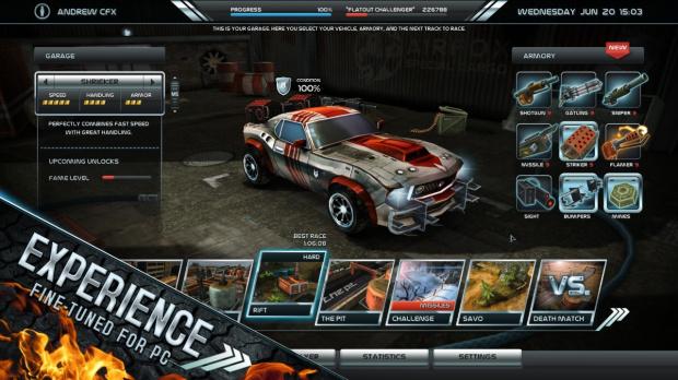Death Rally revient sur PC