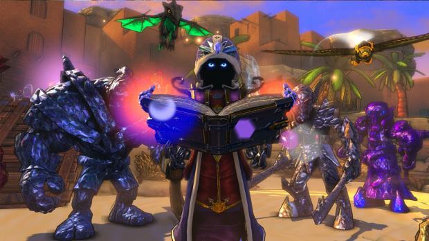 Dungeon defenders passe la strat gie avec le summoner actualit s - Dungeon defenders 2 console ...