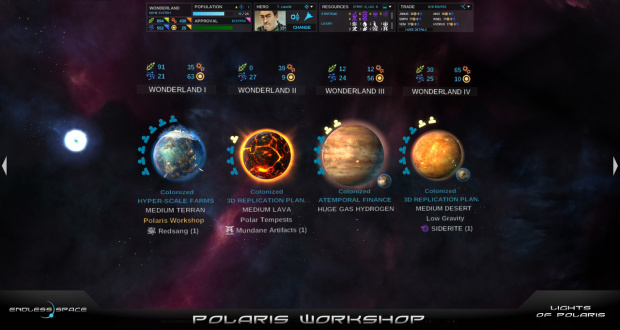 Une extension gratuite pour Endless Space