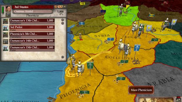 Europa Universalis : Rome patché en version 1.2