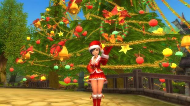 Le MMORPG Florensia fête Noël