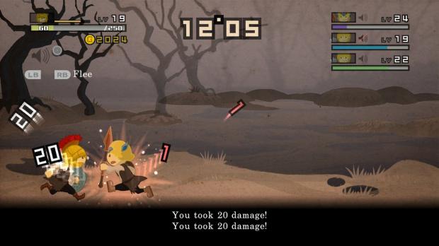 Recevez des versions gratuites de Half Minute Hero pour son lancement sur PC