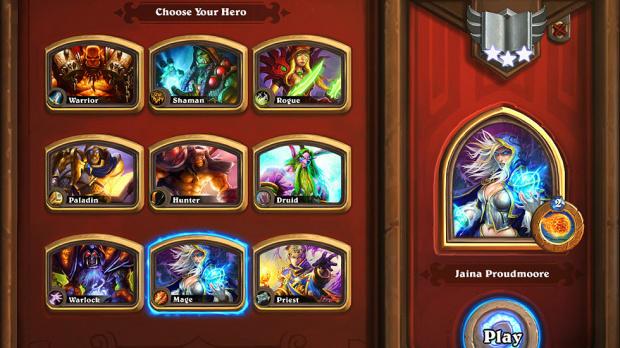 600 clés pour la bêta de HearthStone Heroes of Warcraft