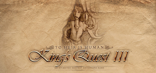 King's Quest III : To Heir is Human Redux