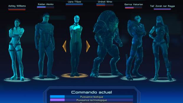 Les sauvegardes de Mass Effect 1 dans Mass Effect 2