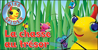 Miss Spider : La Chasse Au Tresor