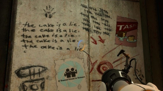 E3 2010 : Portal 2 privé de gâteau