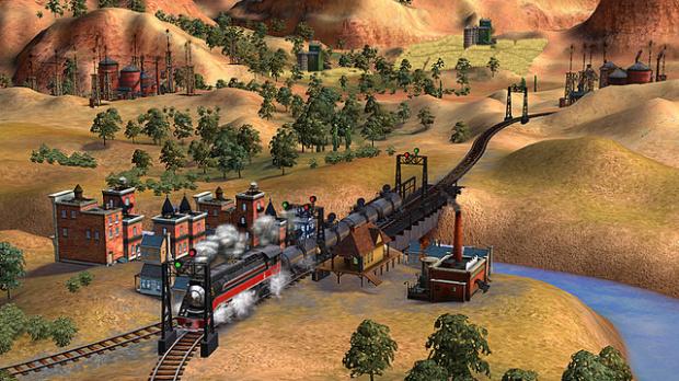 Images : le petit train de Sid Meier
