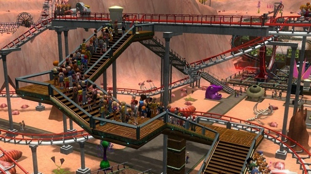 Rollercoaster Tycoon 3 : Distraction Sauvage