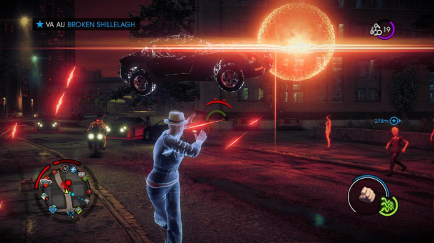 16 minutes sur Saints Row IV