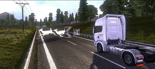 Un concours de conduite pour Scania Truck Driving Simulator