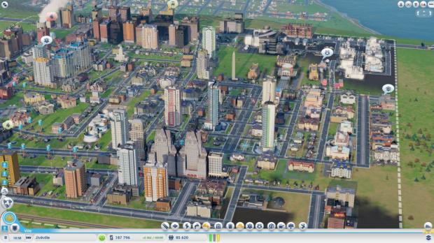 Des serveurs pour SimCity