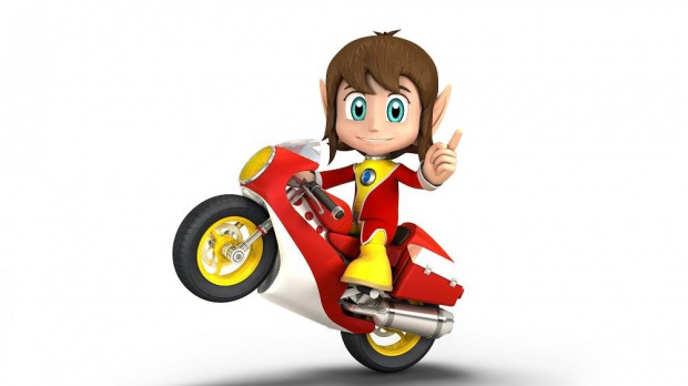 Alex Kidd dans Sonic & Sega All-Stars Racing