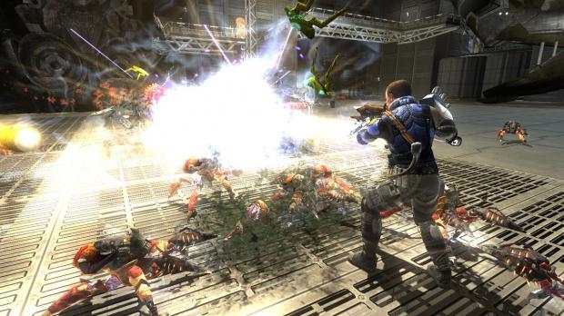 E3 2008 : Images de Space Siege