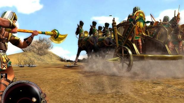 Images : Sparta : Ancient Wars montre ses Egyptiens