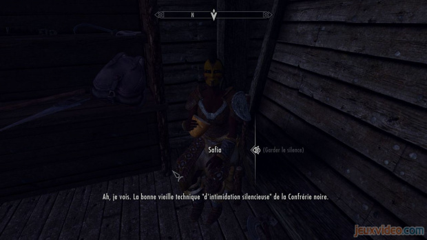 oblivion soluce confrérie noire