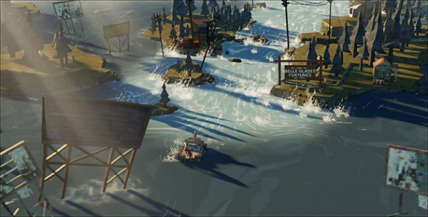 The flame in the flood, les 9 premières minutes de gameplay