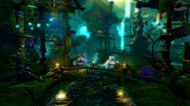 Trine 2 au lancement de la PlayStation 4
