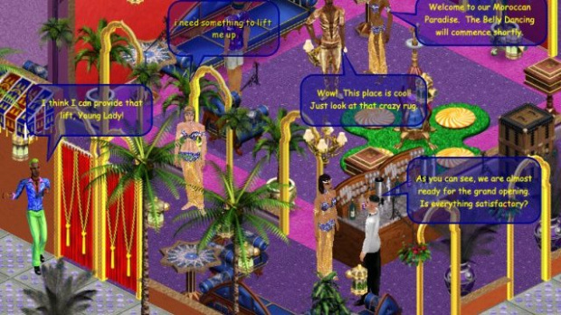 Les Sims pataugent sur le net